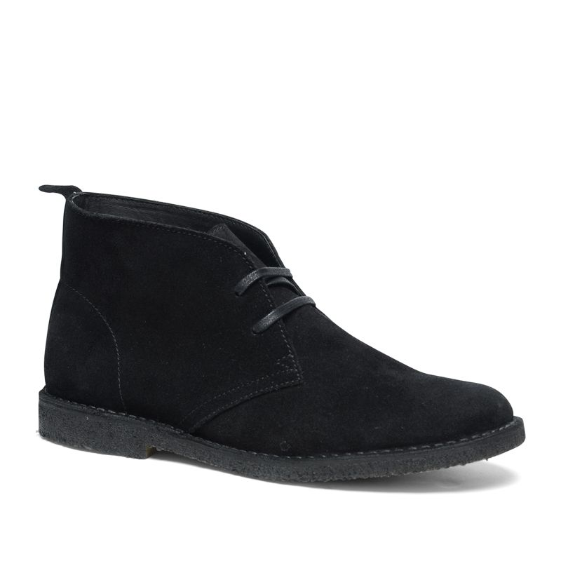 Desert boots met crêpe zool