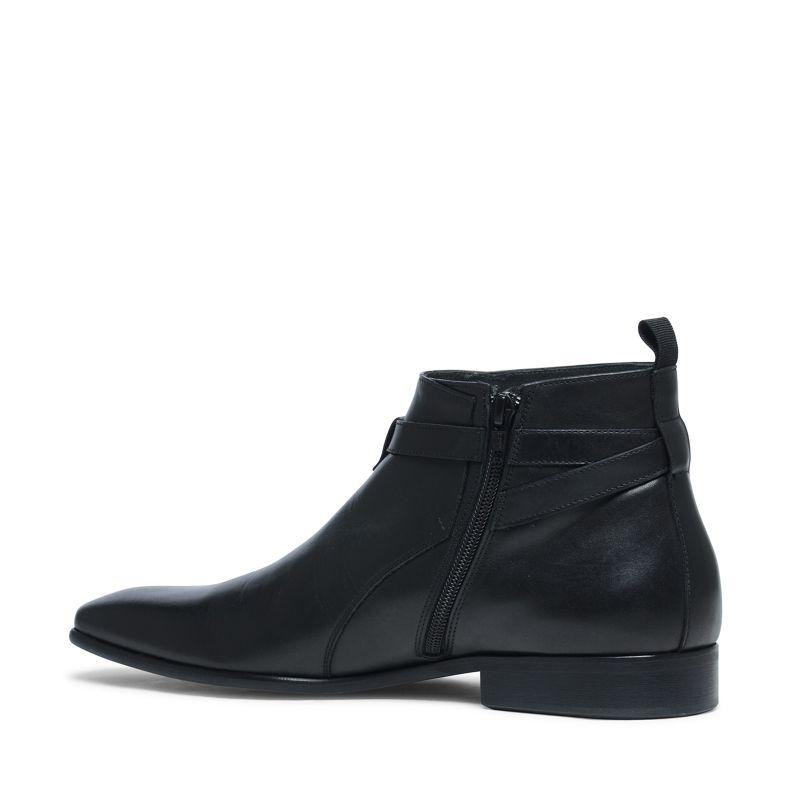 Korte zwarte lage boots