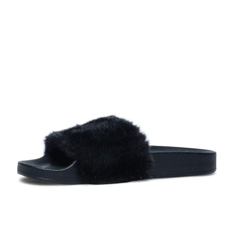Steve Madden Softey zwart slippers