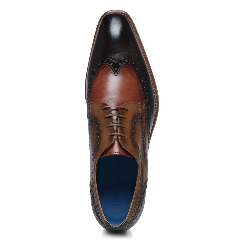 Giorgio Azzurro 47969 brogues rood/bruin