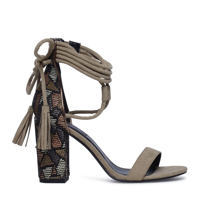 Sandaletten taupe
