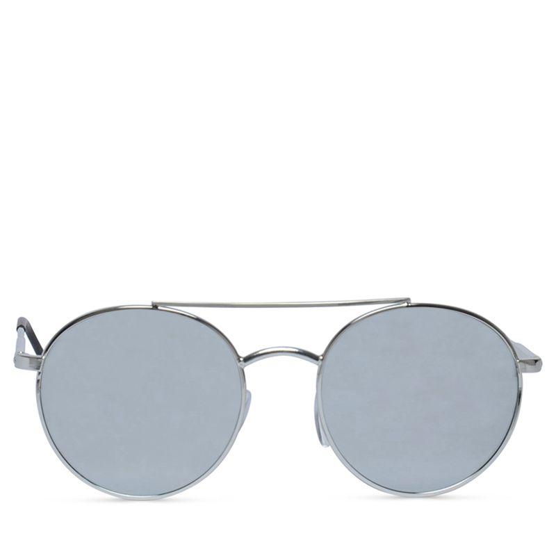Sonnenbrille mit Spiegelgläsern silber