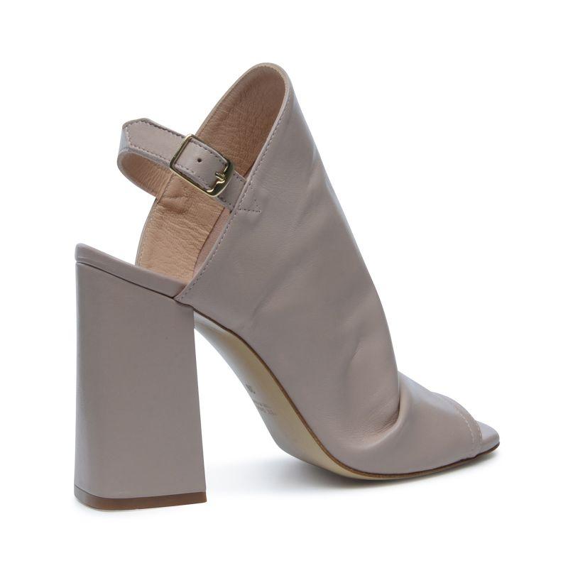 Sandales à talon - rose nude