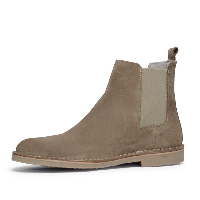 Chelsea boots beige