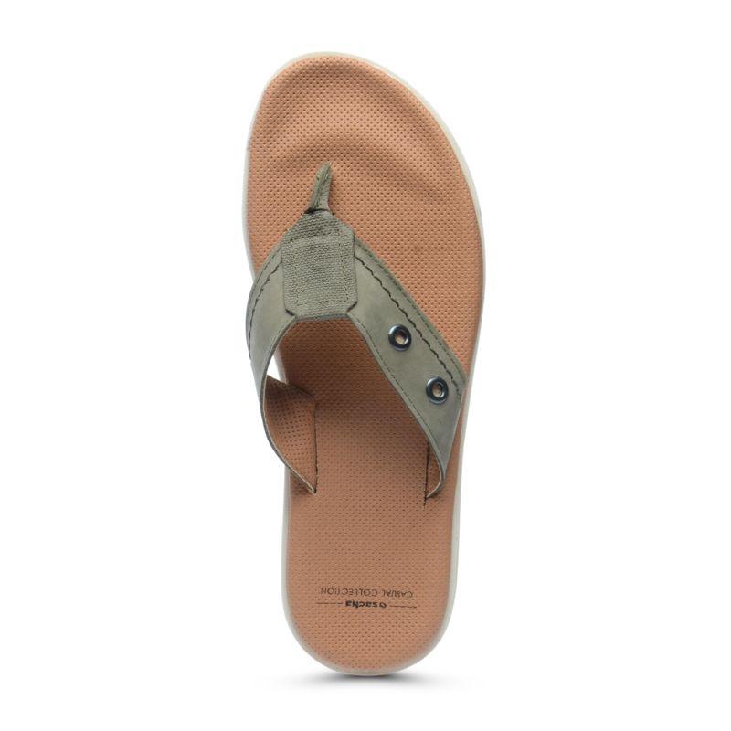 Khaki slippers