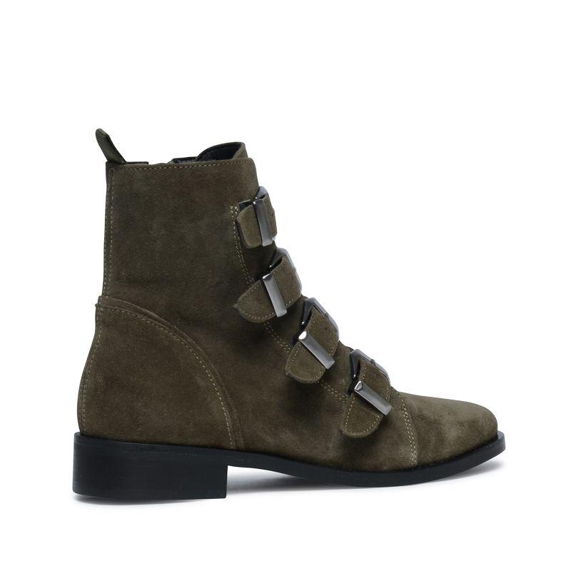 Buckle Boots khaki