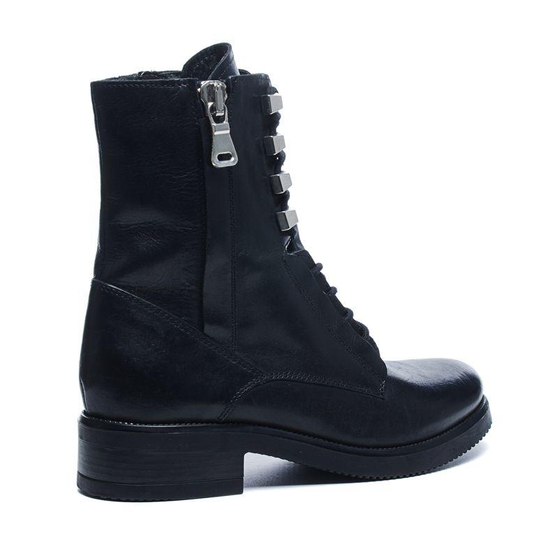 Zwarte boots met veter