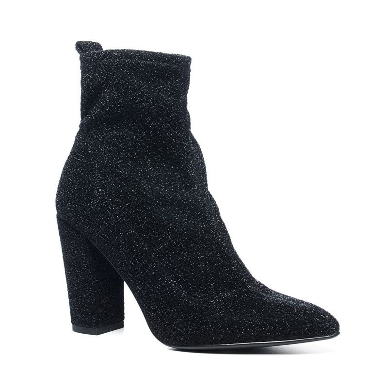 Sacha x Fashionchick bottines - noir
