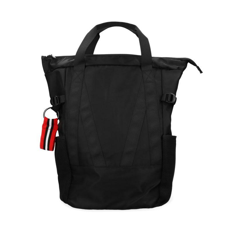 Zwarte sporty rugzak met laptopvak (16 inch)