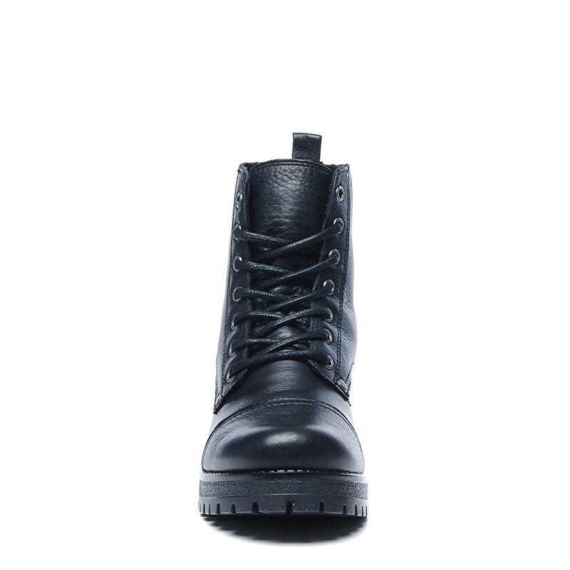 Zwarte biker boots met embroidery