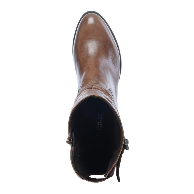 Cognac hoge laarzen