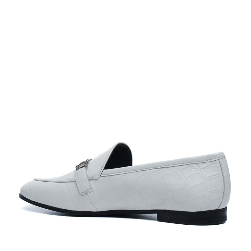 Loafers - blanc