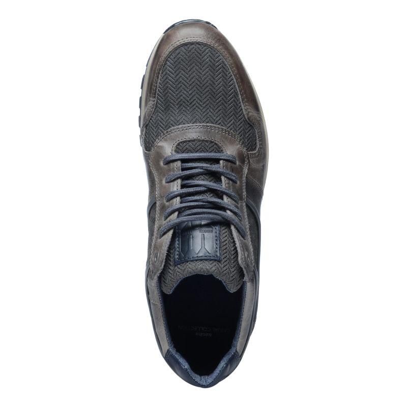 Grijze sneakers met details