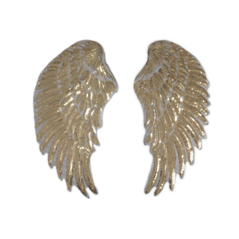 Goldene Flügel-Patches