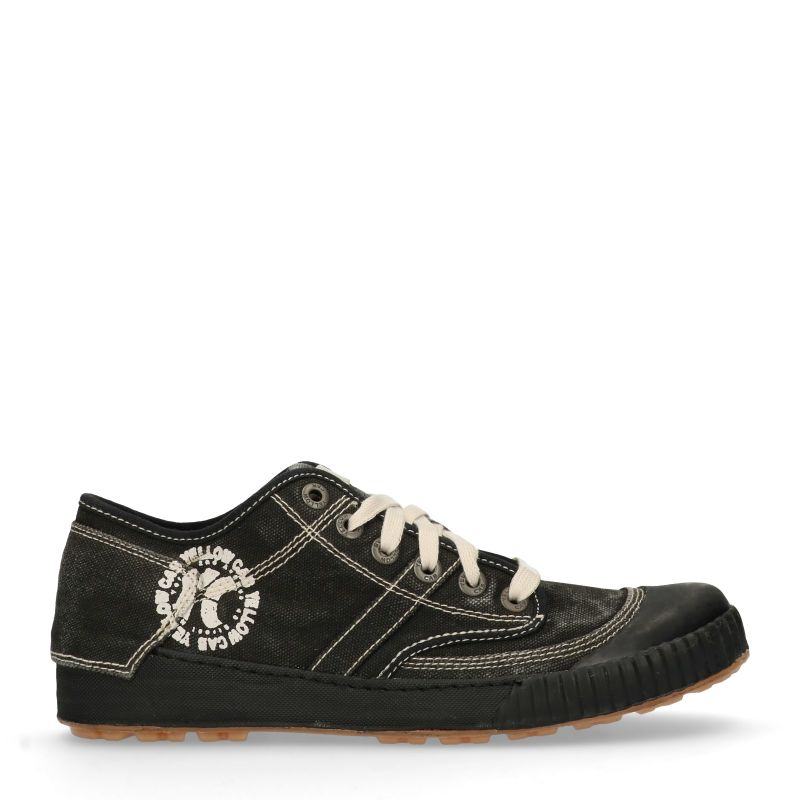 Yellow Cab Ground y12250 zwarte sneakers