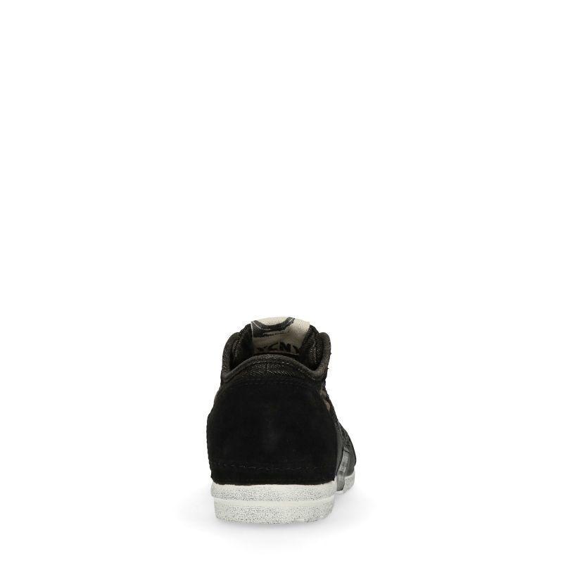 Yellow Cab Mud Y12255 zwarte sneakers