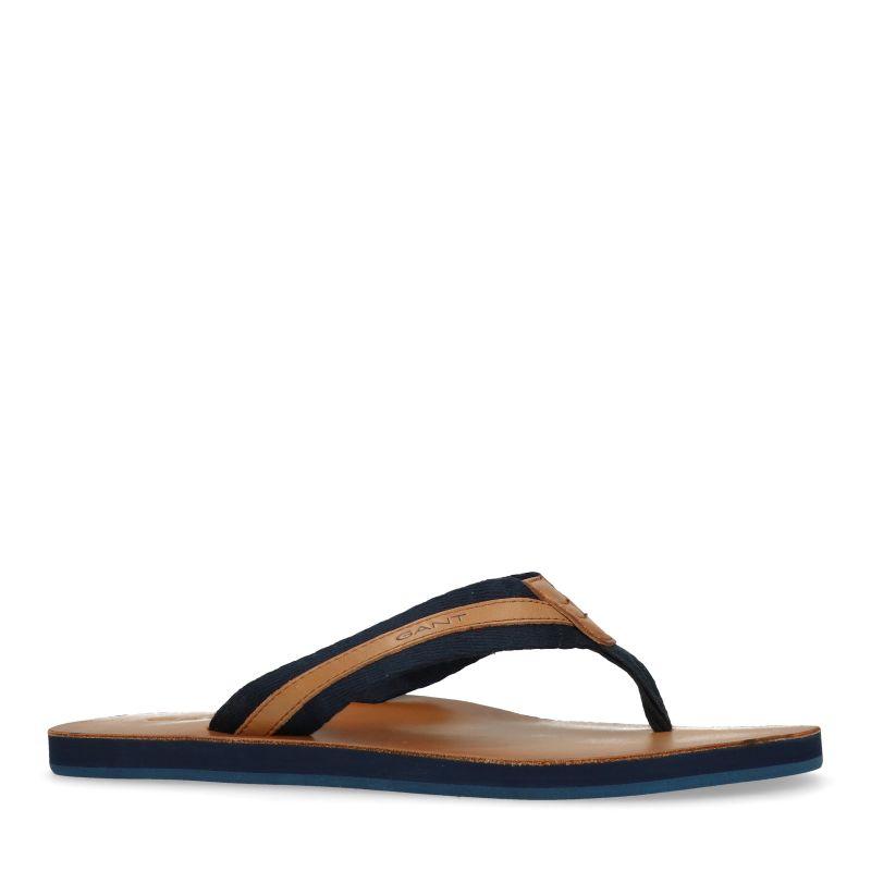 GANT Breeze navy slippers