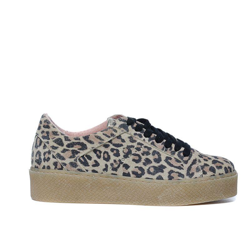 Panterprint platform sneakers