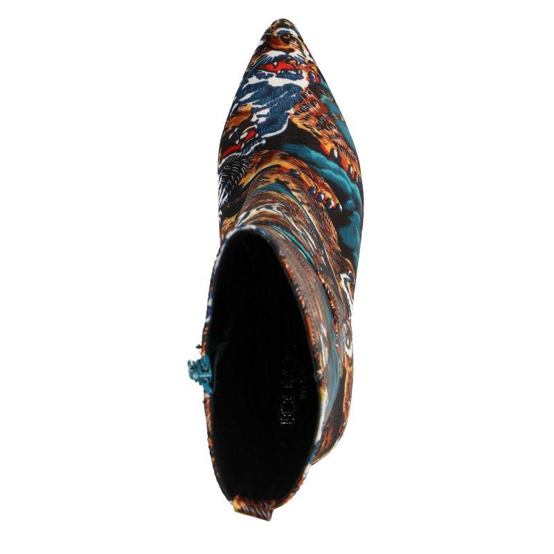 Korte laarzen met tijgerprint