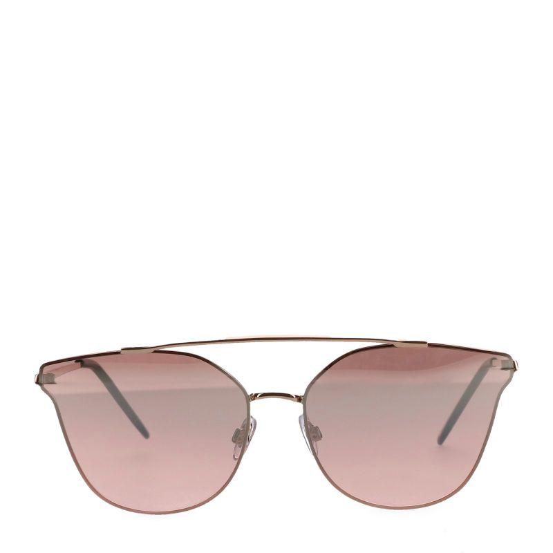 Flash zonnebril rosé goud