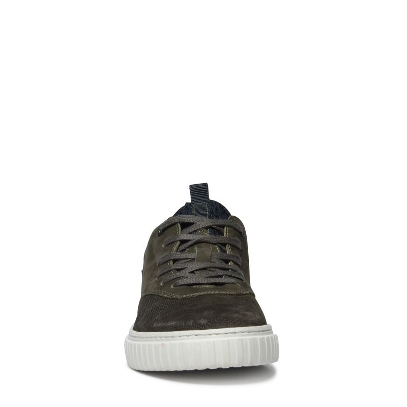 Groen lage sneakers