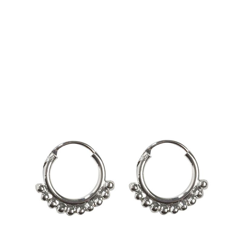 Zilverkleurige ringetjes met details
