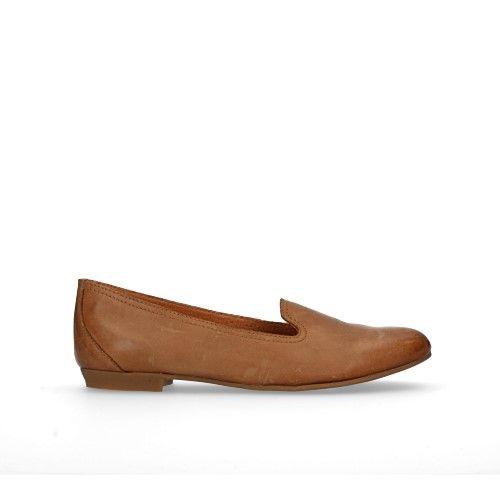 Loafers cognac