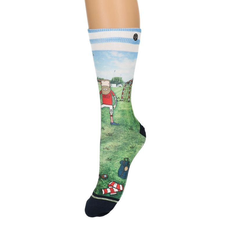 XPOOOS sokken met voetballer