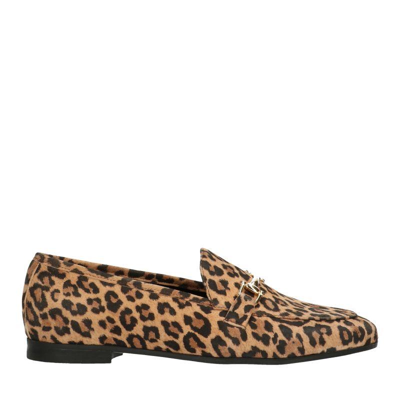 Loafers imprimé panthère