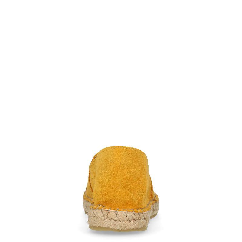 Gele espadrilles