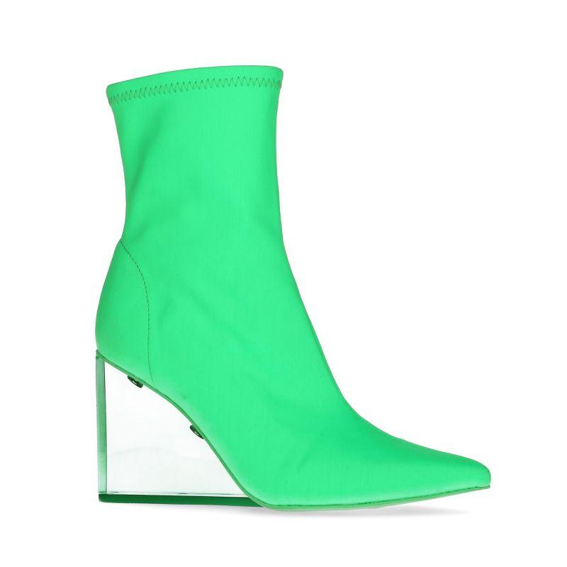 Jeffrey Campbell Siren Bottines-chaussettes - vert