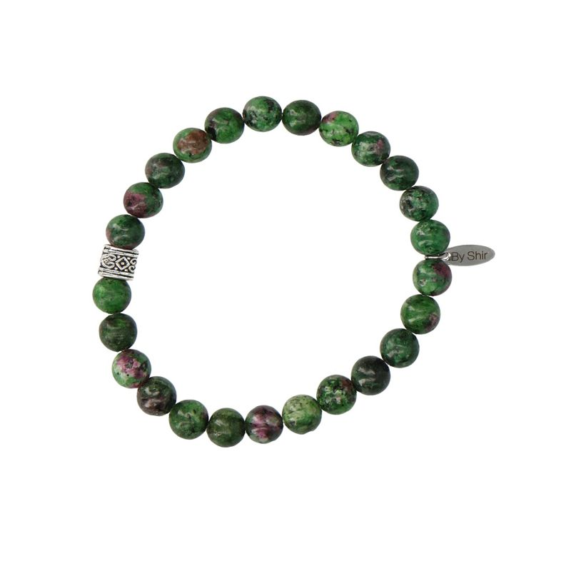 REHAB Zoisite groene armband
