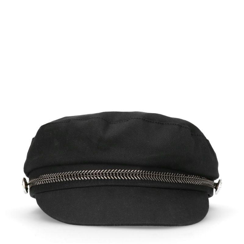Zwarte sailor cap