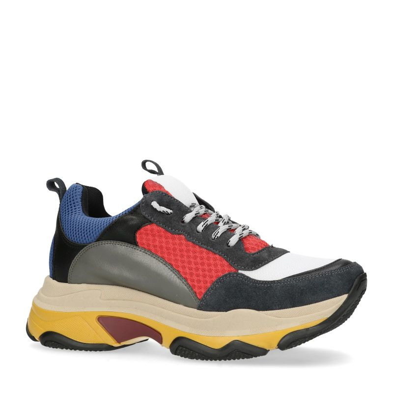 Dad sneakers multicolores