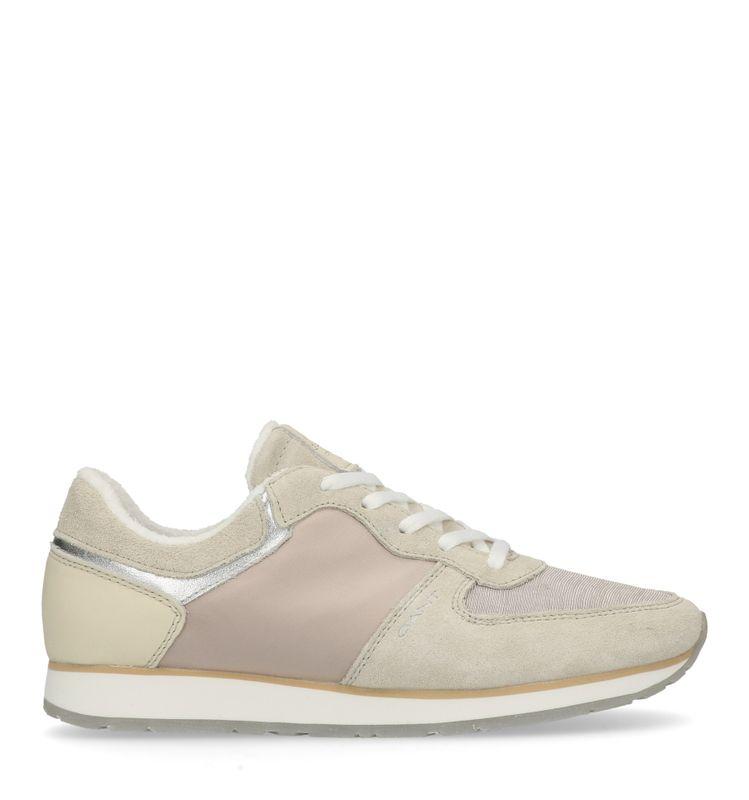 GANT Linda grijze lage sneakers