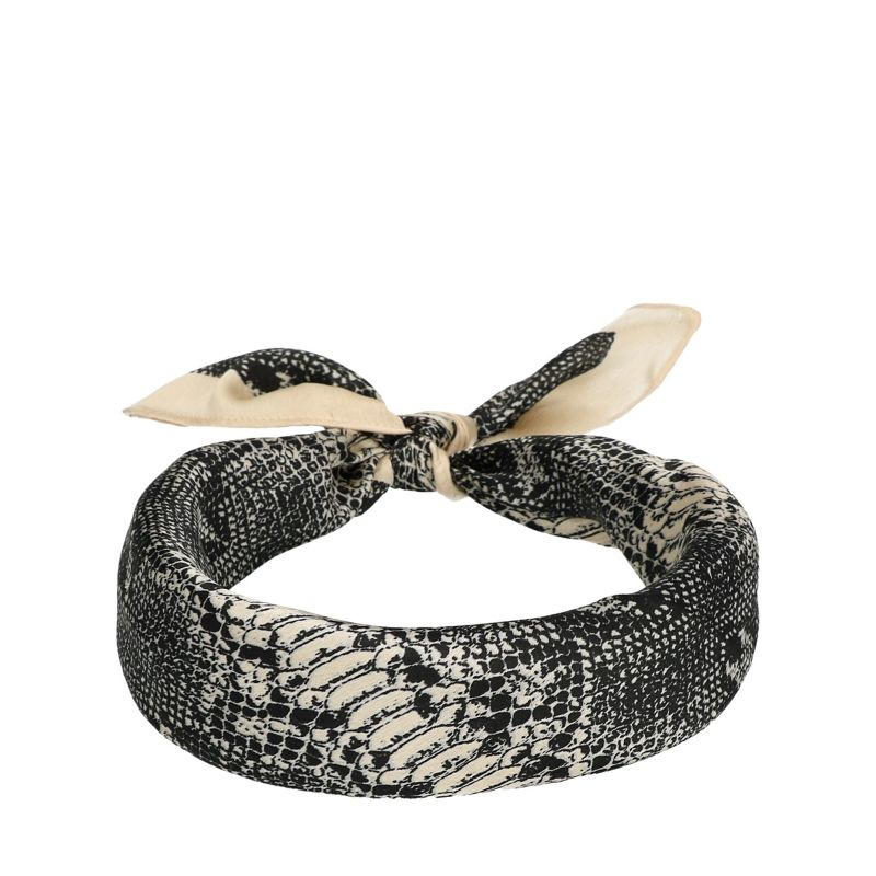 Sjaaltje met snake print
