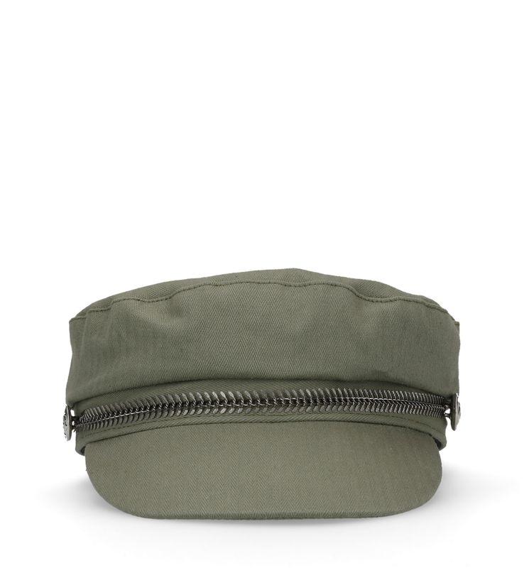 Groene sailor cap
