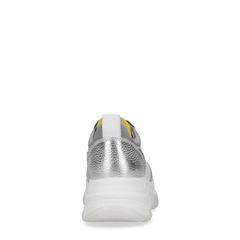 Dad sneakers - vert/jaune