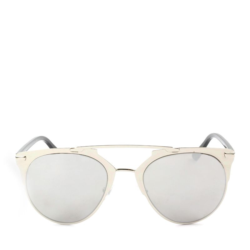 Flash zonnebril zilver