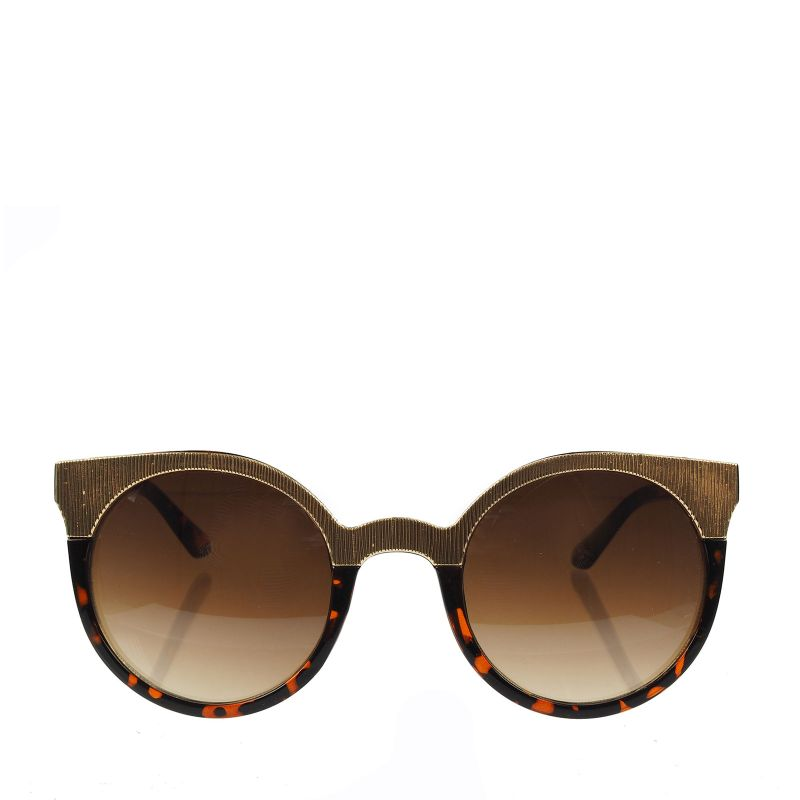 Retro-Sonnenbrille gold