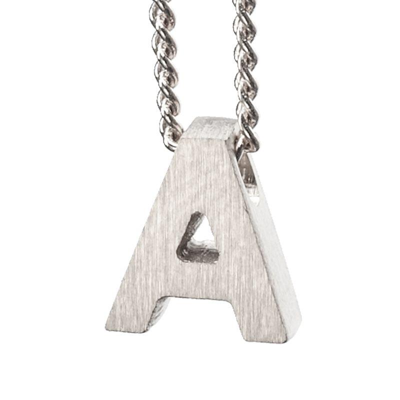 LUZ - zilveren bedel letter A