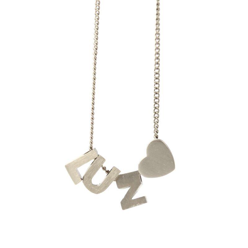 LUZ - zilveren bedel letter O