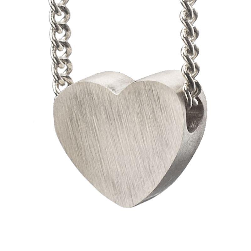 LUZ - zilveren hartjes bedel