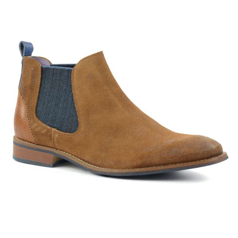 boots chelsea hommes brun hommes sacha. Black Bedroom Furniture Sets. Home Design Ideas