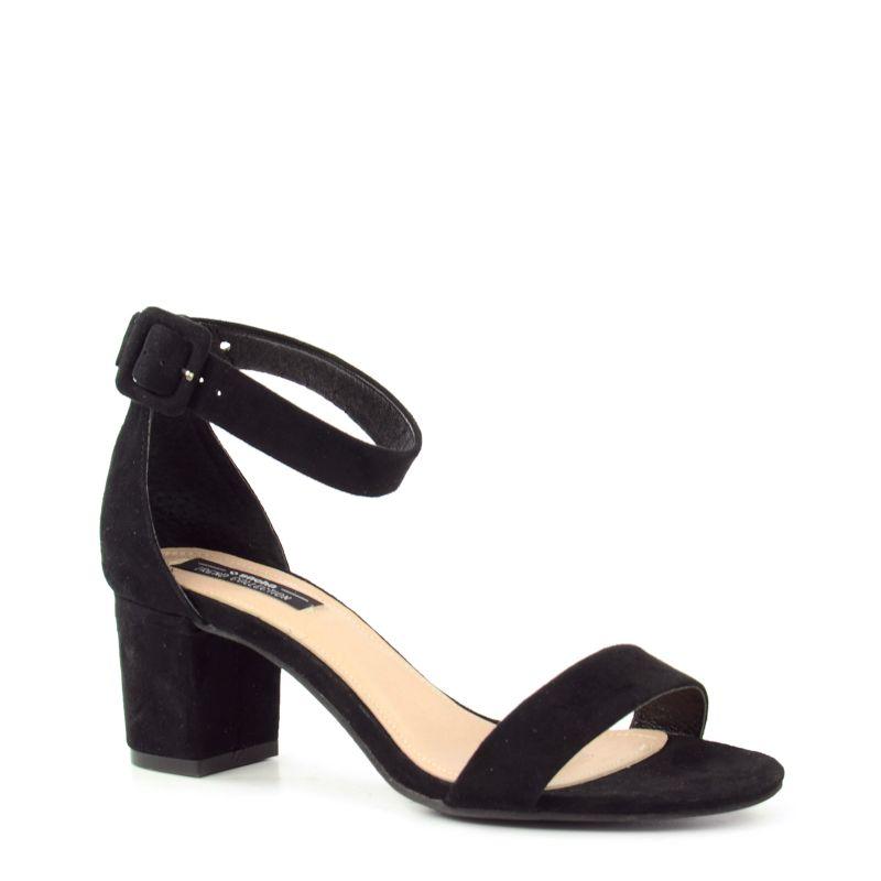 sandalen mit midi absatz damenschuhe. Black Bedroom Furniture Sets. Home Design Ideas