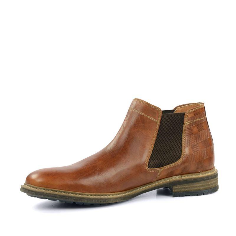 chelsea boots cognac herrenschuhe. Black Bedroom Furniture Sets. Home Design Ideas