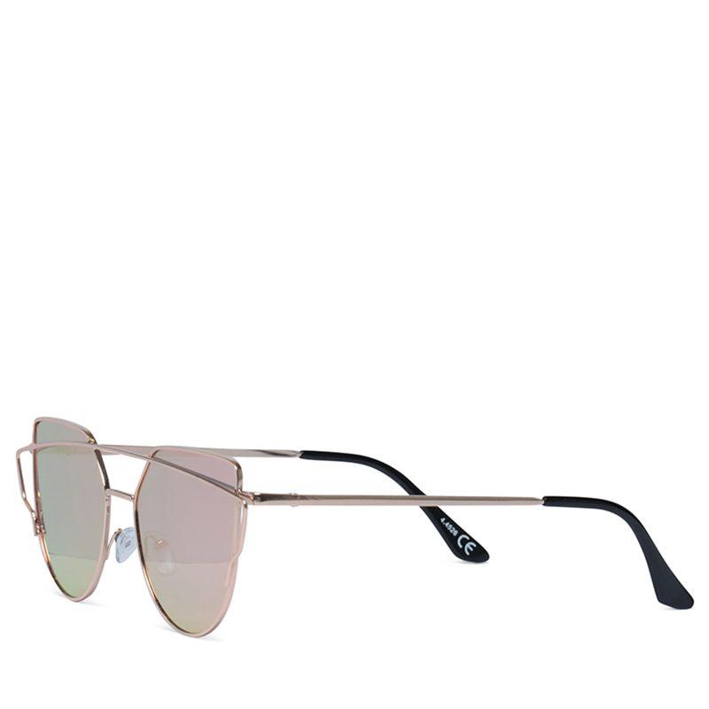 lunettes de soleil avec verres miroir rose dor accessoires sacha. Black Bedroom Furniture Sets. Home Design Ideas