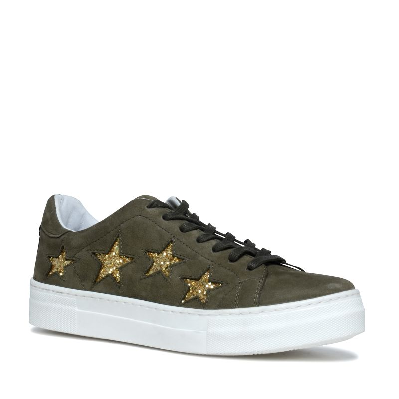 Schoudertas Met Sterren : Platform sneakers met sterren damesschoenen