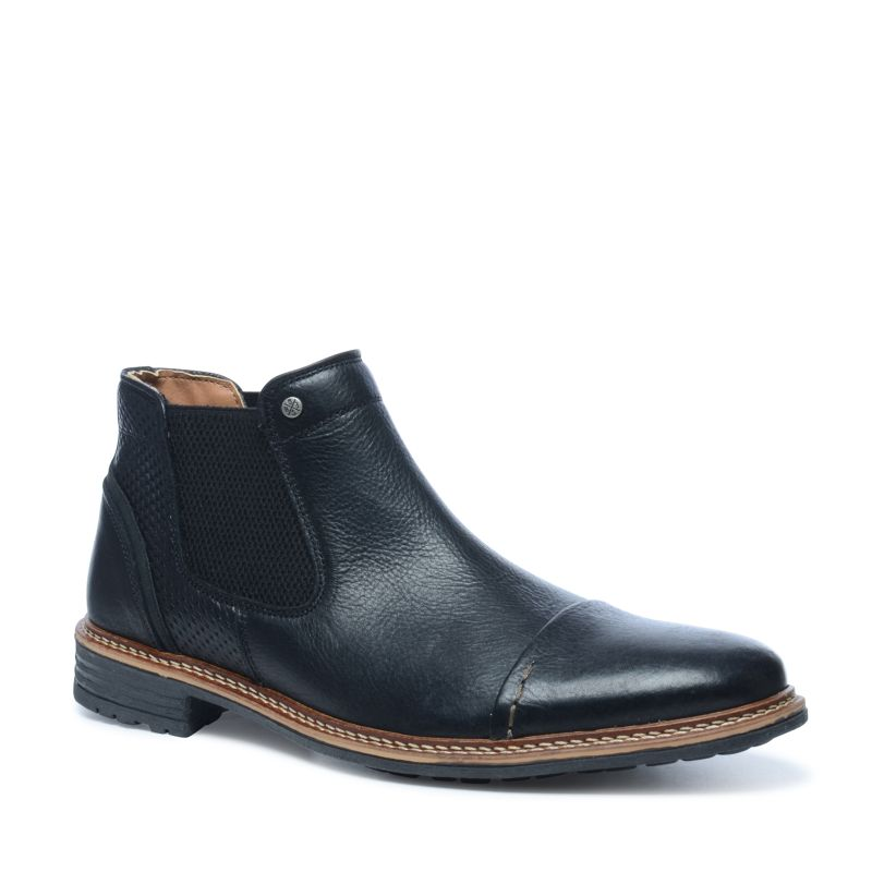 schwarze chelsea boots herrenschuhe sacha. Black Bedroom Furniture Sets. Home Design Ideas
