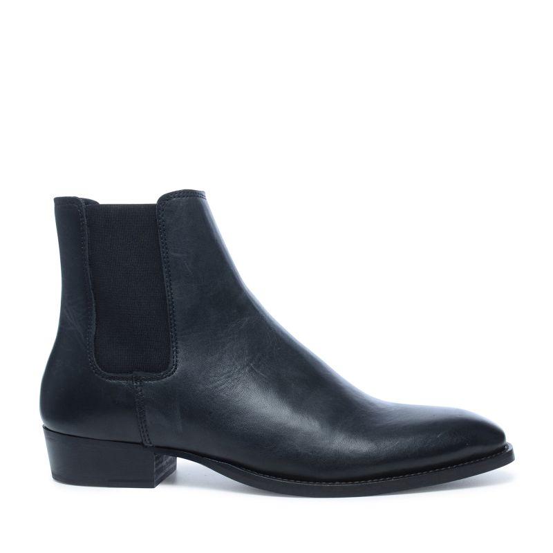 spitze schwarze chelsea boots herrenschuhe sacha. Black Bedroom Furniture Sets. Home Design Ideas